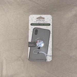 Marble Stick-On Phone Lanyard